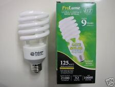 50-Halco ProLume FULL SPECTRUM 32W Long Life 5000K Compact Fluorescent Bulbs