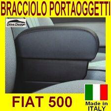 FIAT 500 - bracciolo con grande portaoggetti per - facciamo tappeti auto gomma
