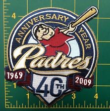 "San Diego Padres embroidered patch 4.5"" heat seal backing MLB patch"