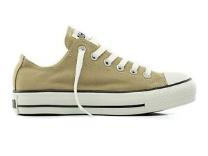 SCARPE UNISEX CONVERSE  1G350 ALL STAR OX CANVAS SIMPLY TAUPE