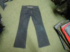 """Banana Republic Bootcut Jeans W 29"""" tamaño 8 Leg Jeans 31"""" se desvaneció oscuro azul señoras"""