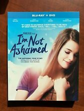 I'm Not Ashamed Blu-ray + Dvd Rachel Scott New Free Ship