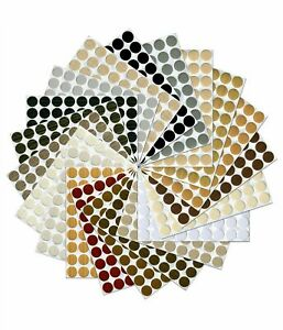 Self Adhesive Screw Cover Caps Nail Decorative Cam Covers Ø13mm NEW HIGH QUALITY