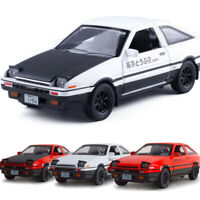 Initial D Toyota Sprinter Trueno AE86 1:28 Scale Car Model Diecast Toy Vehicle