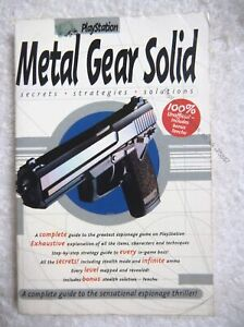 75887 Metal Gear solid Secrets Strategies Solutions