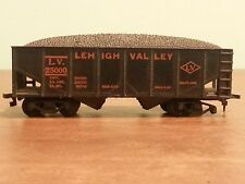 Vintage Model Toy Railroad Train Car Lehigh Valley Open Coal Car