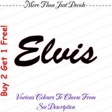 Elvis Vehículo Coche Decal Sticker Portátil (ref 105)