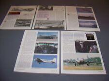 VINTAGE..BOEING MODEL 307  HISTORY..HISTORY/PHOTOS/DETAILS...RARE! (225P)