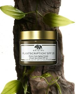Origins Plantscription SPF25 Power Anti-Aging Cream 1.7oz 50ml New In Box