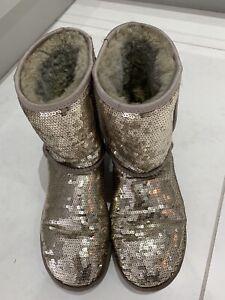 Sequin Ugg boots Ladies