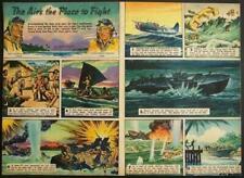 Frank Tinsley *Flying Leathernecks* 1945 WWII Comic Strip
