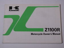 KAWASAKI Z1100R  Z1100-R Z1100  OWNER OWNER'S MANUAL