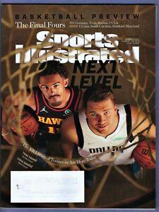 Nov. 1 2021 TRAE YOUNG-Hawks LUKA DONCIC Mavericks Sports Illustrated