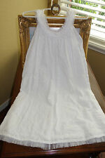 Orient Expressed White Embroidered Beach Sun Dress 5