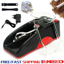 More details for auto electric cigarette rolling machine injector tobacco roller maker mini uk