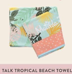 Matilda Jane Talk Tropical Beach Towel Dream Chasers