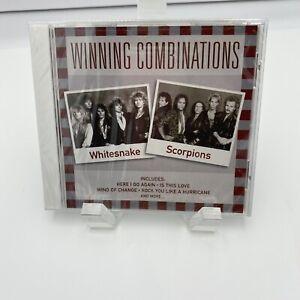 WHITESNAKE / SCORPIONS Winning Combinations Compact Disc New