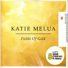 KATIE MELUA Fields Of Gold 2017 UK 1-trk no'd promo CD sealed Children In Need