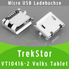 TrekStor VolksTablet VT10416-2 Micro USB DC Buchse Ladebuchse Strombuchse