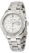 CAY2111.BA0927 Tag Heuer Aquaracer CAL16 Men's Watch Auto Chrono Stainless Steel