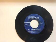 BLUES 45 RPM RECORD - LIGHTNIN' HOPKINS - PRESTIGE BLUESVILLE 813