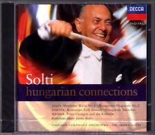 Georg SOLTI: KODALY Hary Janos Suite LISZT Hungarian Rhapsody 2 BARTOK WEINER CD