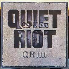 QUIET RIOT Qr III LP VG+ OZ 40321 Pasha 1986 USA Rock w/Inner Sleeve