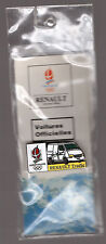 pin's Renault trafic / Jeux Olympiques Albertville 92 (double attache) neuf