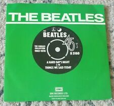 """THE BEATLES - A Hard Day's Night - 7"""""""