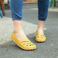 Women Slip On Hollow Comfort Pumps Work Summer Casual Loafers Shoes Sizes 4.5-11