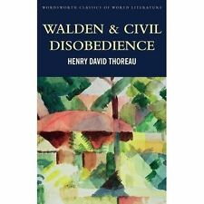 Walden & Civil Obedience by Henry David Thoreau (Paperback, 2016)