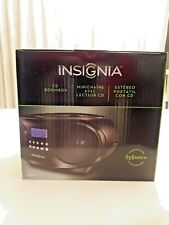 Insignia- CD Boombox - Black NS-B4111. NIB
