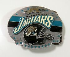 Siskiyou Limited Edition Jacksonville Jaguars Football Pewter Belt Buckle -#1803