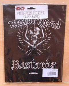 Motörhead , Bastards Backpatch 2011 , OVP