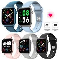 Fitness Tracker Smartwatch Pulsuhr Sport Uhr für iPhone Samsung Moto LG Q8 Q7 Q6