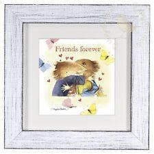 Marjolein Bastin Friends Forever 9 x 9 Framed Print (Daisy White Frame)