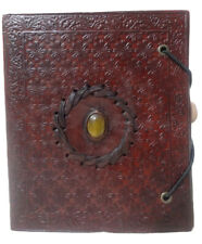 Mini Diary Personal Book Wicca 6x5 Leather Notebook Blank Paper Journal Memory