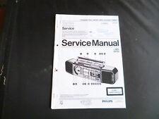 Original Service Manual Philips D 8958