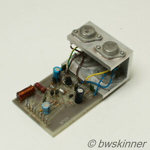 PA105 100W Mosfet Power Amplifier Board / Heatsink / Assembly. K135 / J50. TO-3.