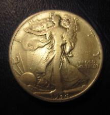 1938 D Walking Liberty Half Dollar-Nice Grade-Uncertified-Circulated-ungraded
