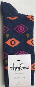 EU36-40 US4.5-7.5 PYR01-1000 UK3.5-6.5 Happy Socks Women/'s Pyramid Socks