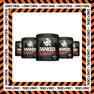 Tanked Smash Pre Workout Powder - Nitric Oxide Strong Muscle Pump - 50 Servings