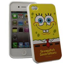 Spongebob Silikon Case Pants für Apple iPhone 4 4S Skin Hülle Handy Tasche Cover