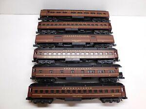 K-line O Scale Pennsylvania Railroad Heavyweight 6-Car Passenger Set w/ Boxes