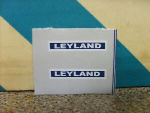 DINKY 308 384  LEYLAND   FARM TRACTOR  SIDE STICKERS   NEW REPLACEMENT