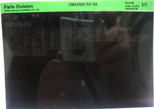 Honda CMX250C Rebel 2003 - 2004 Parts Microfiche h220
