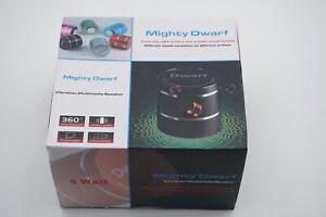 Pink Mighty Dwarf 5 Watt Mini Vibration Multimedia Speaker Portable USB MicroSD