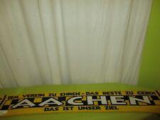 """Aachen Fan Schal """"DEM VEREIN ZU EHREN-DAS BESTE ZU GEBEN DAS IST UNSER ZIEL"""""""