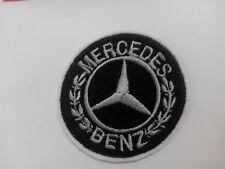 Parche bordado para coser estilo Mercedes 5 cm adorno ropa personalizada