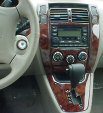 2006 2007 2008 2009 INTERIOR WOOD DASH TRIM KIT SET FOR HYUNDAI TUCSON SE GL GLS